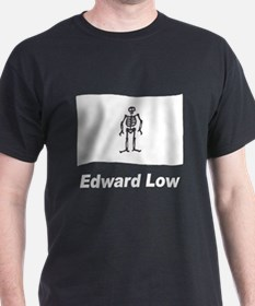 Pirate Flag - Edward Low (Front) T-Shirt