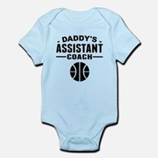 Daddys Assistant Basketball Coach Body Suit