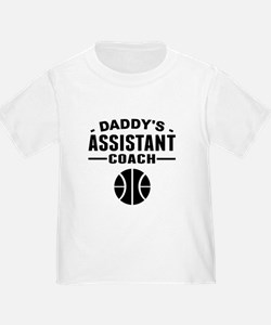 Daddys Assistant Basketball Coach T-Shirt