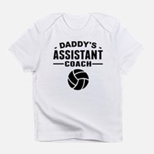 Daddys Assistant Volleyball Coach Infant T-Shirt