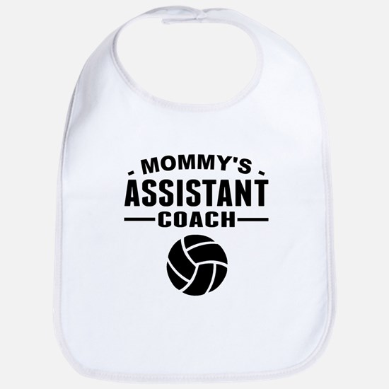 Mommys Assistant Volleyball Coach Bib