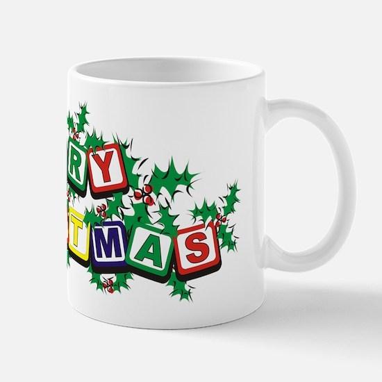 Christmas Blocks Mug
