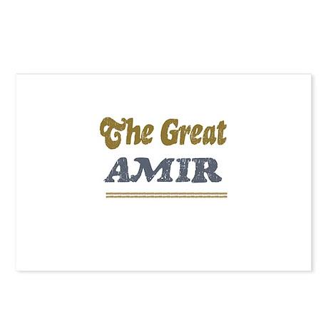 Amir Postcards (Package of 8)