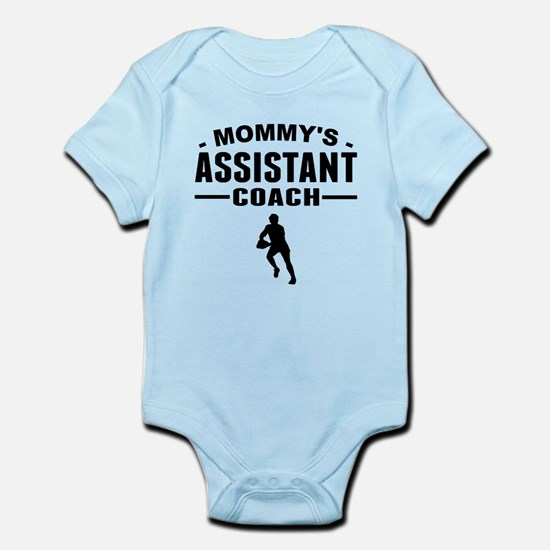 Mommys Assistant Rugby Coach Body Suit