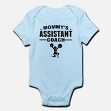 Mommys Assistant Cheer Coach Body Suit