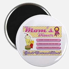 """My Mom's Diner 2.25"""" Magnet (100 pack)"""