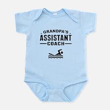 Grandpas Assistant Swim Coach Body Suit