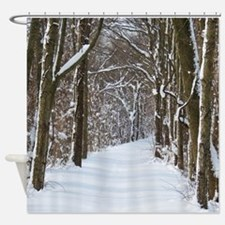 nature trail Shower Curtain
