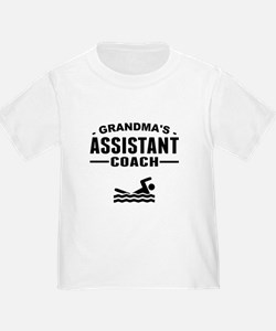 Grandmas Assistant Swim Coach T-Shirt