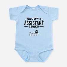 Daddys Assistant Swim Coach Body Suit