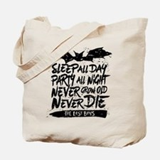 Lost Boys Never Grow Old Tote Bag