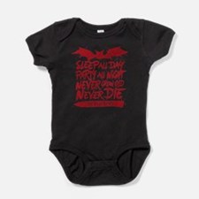 Lost Boys Never Grow Old Baby Bodysuit