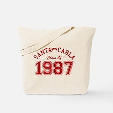 Santa Carla Class Of 1987 Tote Bag