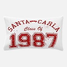 Santa Carla Class Of 1987 Pillow Case