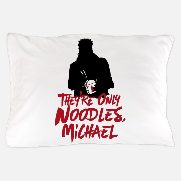 They're Only Noodles Michael Pillow Case