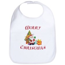 Christmas Wishes Bib