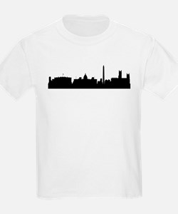 Washington DC Cityscape Skyline T-Shirt