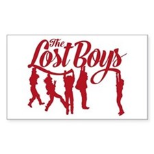 Lost Boys Hanging Off Bridge Decal
