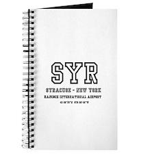 AIRPORT CODES - SYR - SYRACUSE, NEW YORK Journal