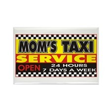 Mom's Taxi Service Rectangle Magnet (100 pack)