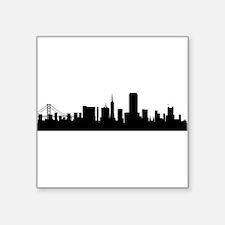 San Francisco Cityscape Skyline Sticker
