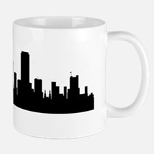 San Francisco Cityscape Skyline Mugs