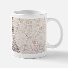 Vintage Paris Mugs