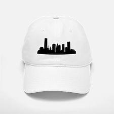 Oklahoma City Cityscape Skyline Baseball Baseball Baseball Cap