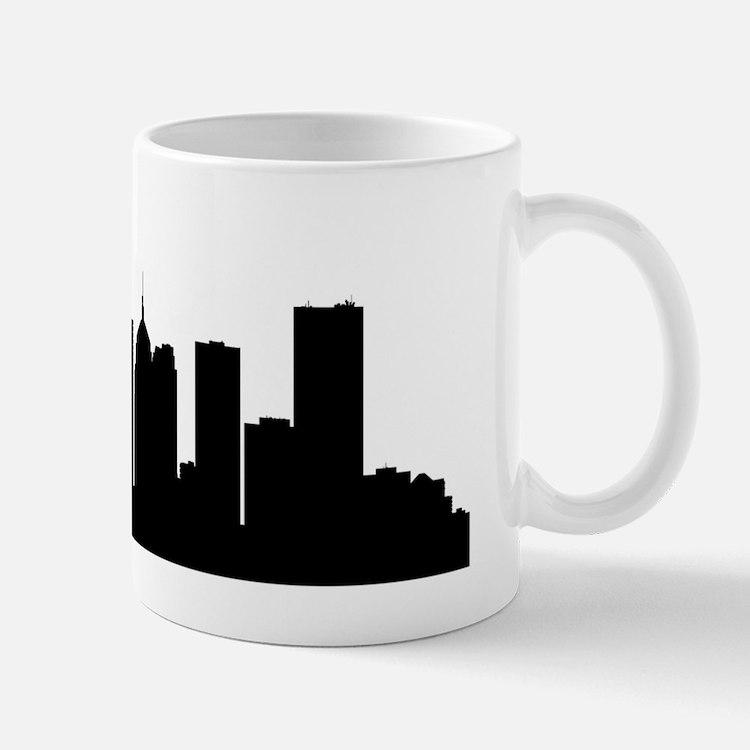 Oklahoma City Cityscape Skyline Mugs