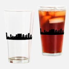 Nashville Cityscape Skyline Drinking Glass