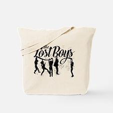 Lost Boys Hanging Off Bridge Tote Bag