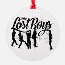 Lost Boys Hanging Off Bridge Ornament