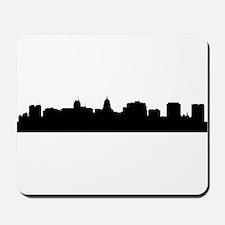 Madison Cityscape Skyline Mousepad