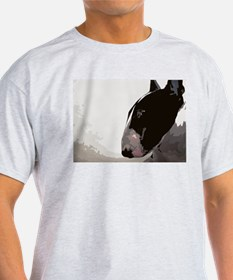 Cute English bull terrier art T-Shirt