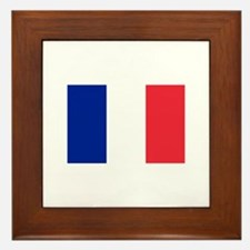 French Flag Framed Tile