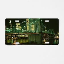 Unique Brooklyn bridge Aluminum License Plate