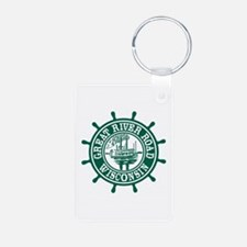 Great River Road Wisconsin Keychains