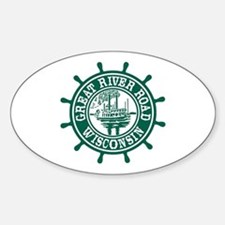 Great River Road Wisconsin Decal