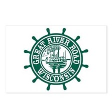 Great River Road Wisconsi Postcards (Package of 8)
