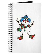 Silly Cowboy Snowman Journal