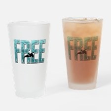 Free Tilly Sticker Drinking Glass