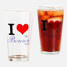 I heart my Beveren Drinking Glass