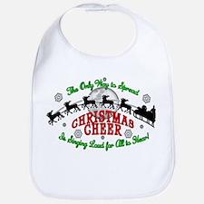 Elf Christmas Cheer 2015 Bib