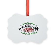 Elf Christmas Cheer 2015 Ornament