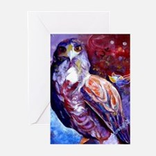 Spirit Hawk Greeting Cards