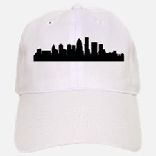 Louisville Cityscape Skyline Baseball Baseball Baseball Cap