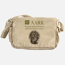 Aark Owl Logo Messenger Bag