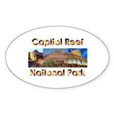 Abh Capitol Reef Sticker (oval)