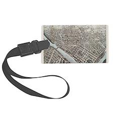 Maps Luggage Tag