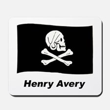 Pirate Flag - Henry Avery Mousepad